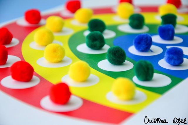 sortare invatare culori