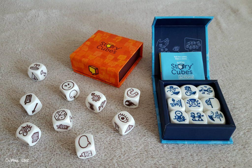 povesti cu story cubes