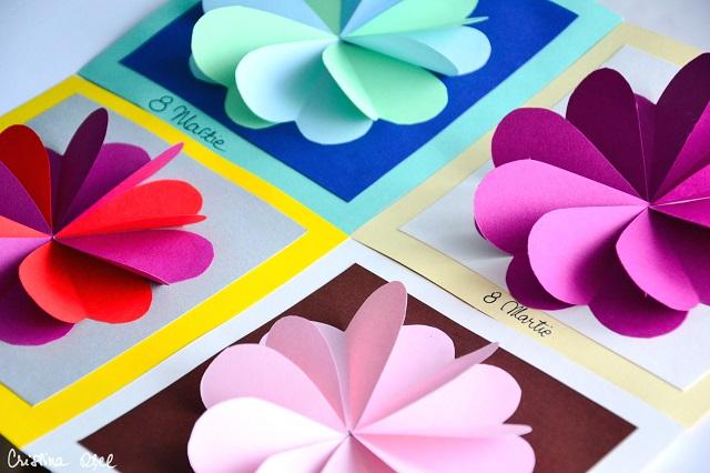 Felicitări De 8 Martie Cu Inimi Colorate Cristina Oțel