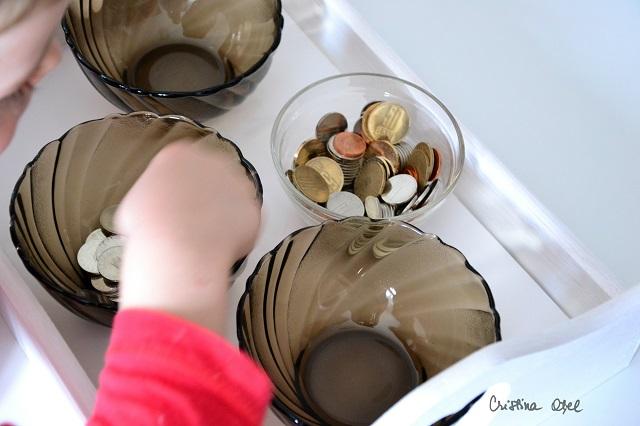 sortare monede