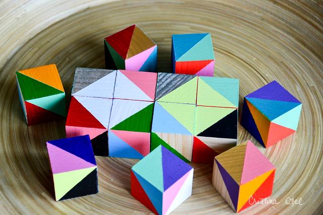 cuburi pictate