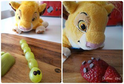 colaj gaze din fructe