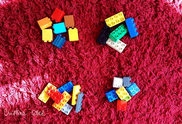 sortare Lego