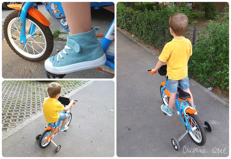 colaj bicicleta
