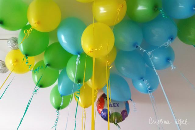 baloane blu party