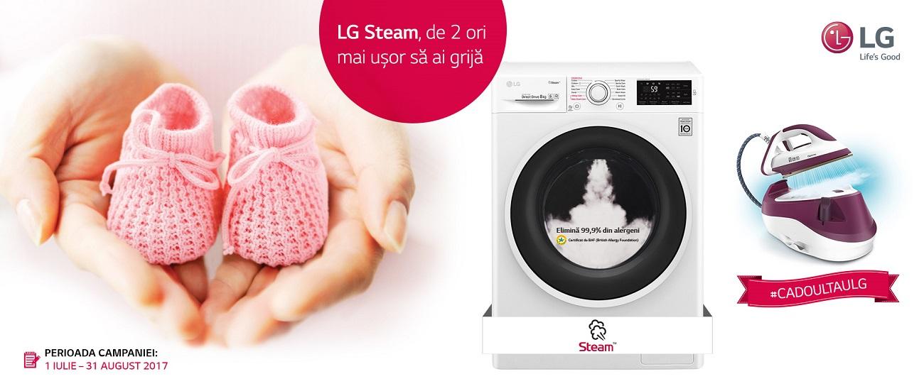 LG Steam - campanie