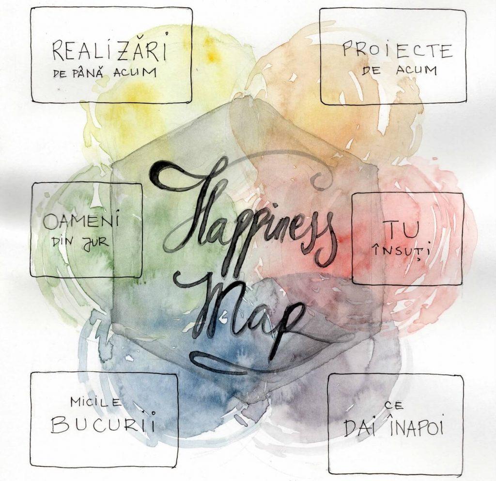 harta spre fericire, hapiness map