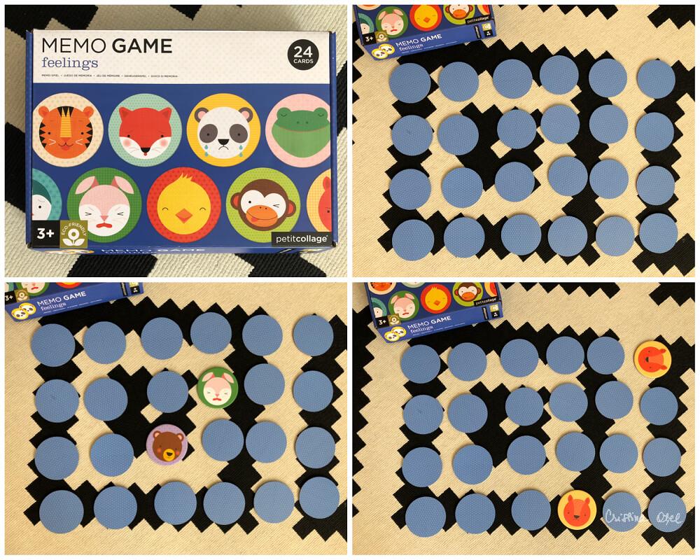 joc memorie și emoții