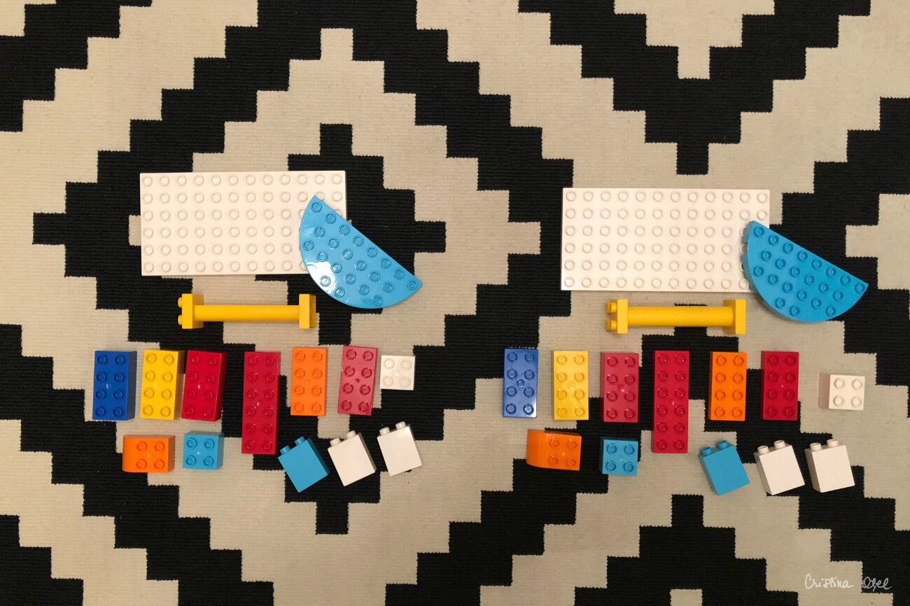 Seturi identice de piese Lego Duplo
