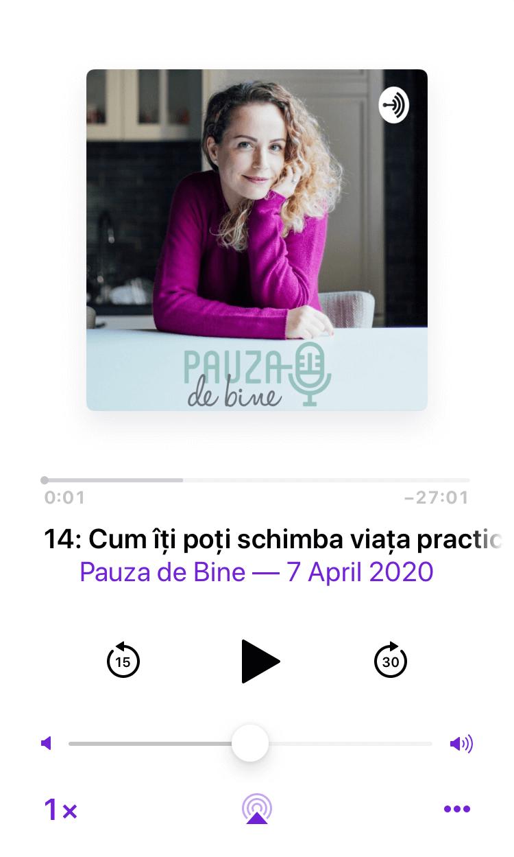 podcast pauza de bine e14