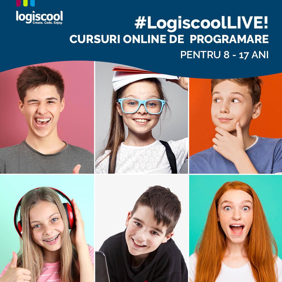 logiscool cursuri programare copii