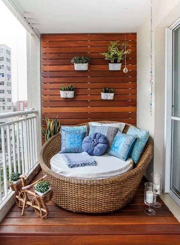 idei amenajare balcon